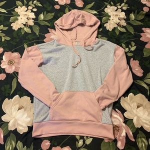 Ahh-mazingly soft color block hoodie